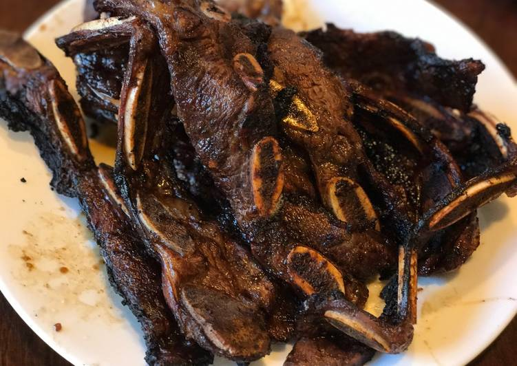 Recipe: Appetizing Korean BBQ Beef Short Ribs