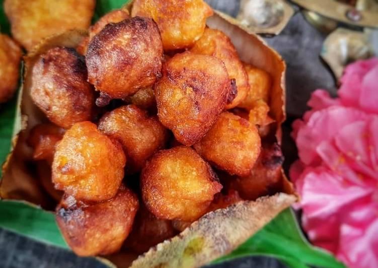 Simple Way to Prepare Award-winning Sugar palm fritters