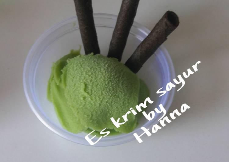 Resep Es Krim Sayur Oleh Hanna Camelia Cookpad