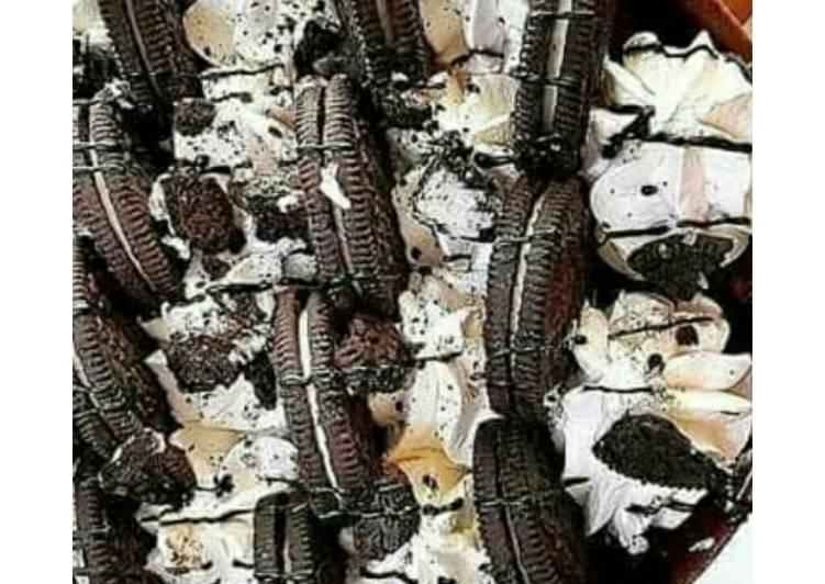 Chocolate oreo ice cream