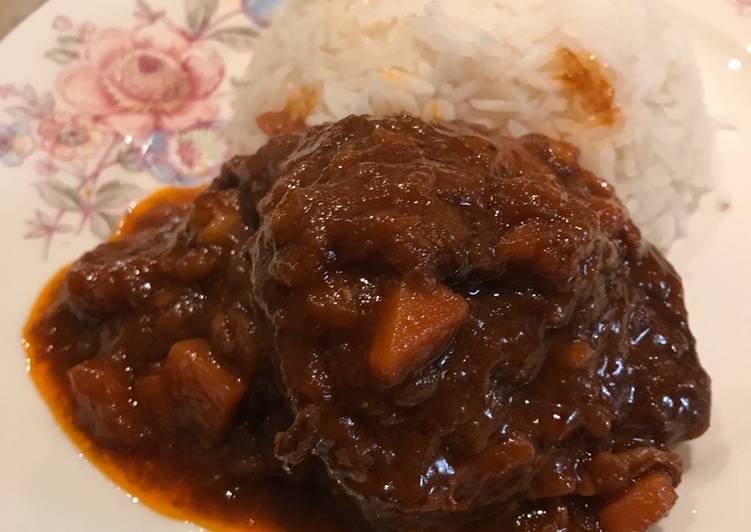 Recipe of Any-night-of-the-week Red wine beef short ribs - slow cooked