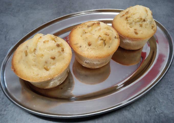 Muffins vanille aux éclats de pistaches, au Cake Factory