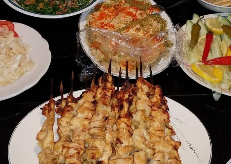 Simple Way to Make Award-winning Chicken Shish Kabab