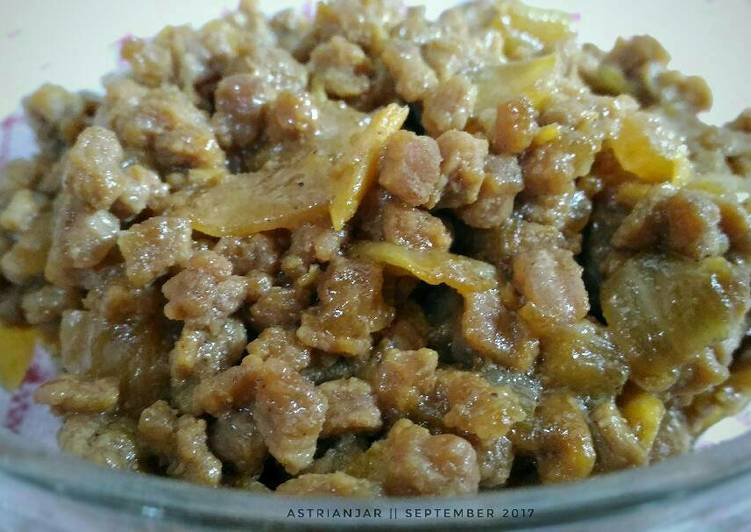Daging Sapi Cincang (Isian Martabak Telur)