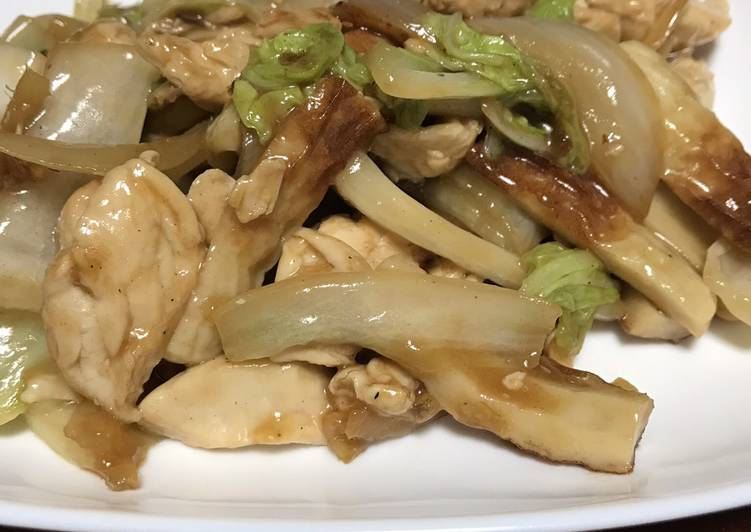 Stir fry Chicken with Veggies