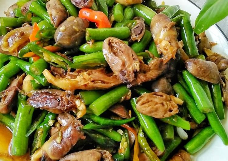 Resep Mudah Tumis Buncis Jantung Ayam Praktis Enak Kataucap