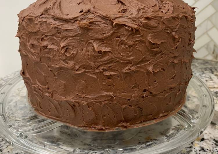 Nutella frosting (doubled)