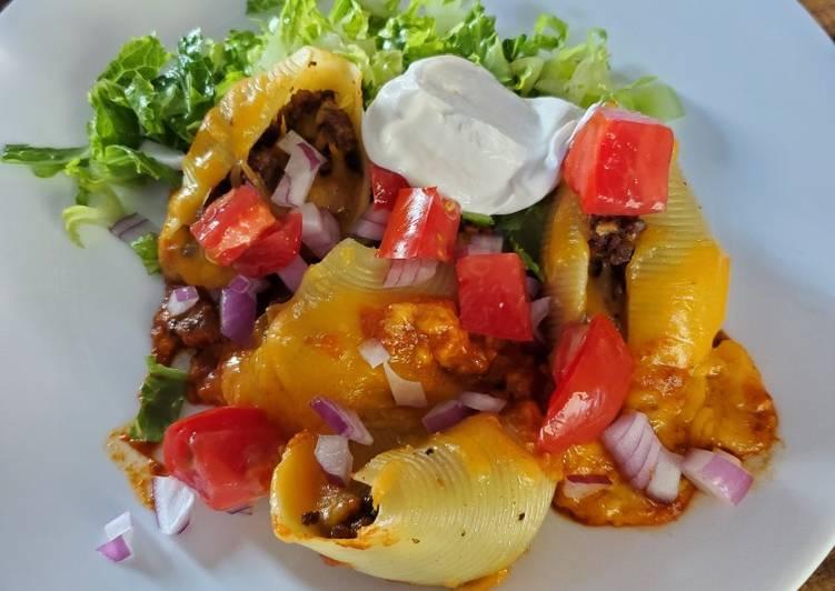 Steps to Make Quick Stuffed Enchilada Shells