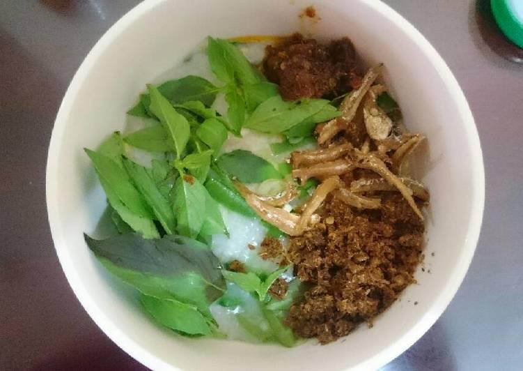 Bubur Manado Sambal Roa Yummy!