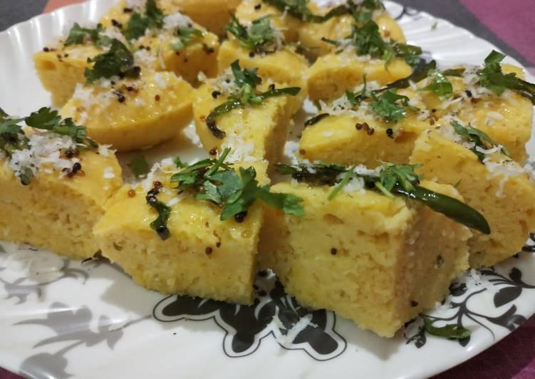 Easiest Way to Cook Yummy Khaman Dhokla