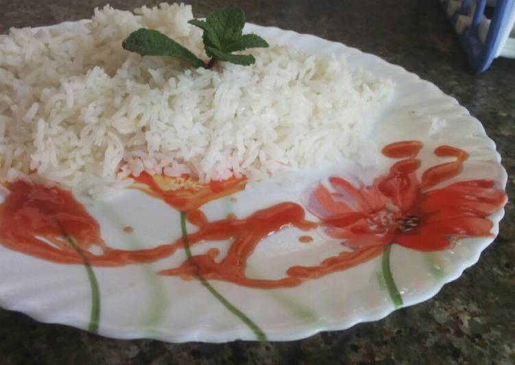 Recipe: Appetizing White rice