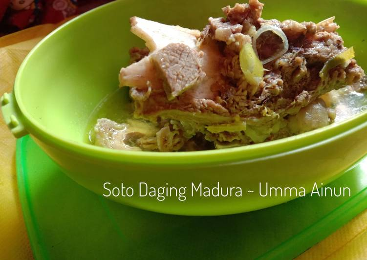 15) Soto Daging Madura