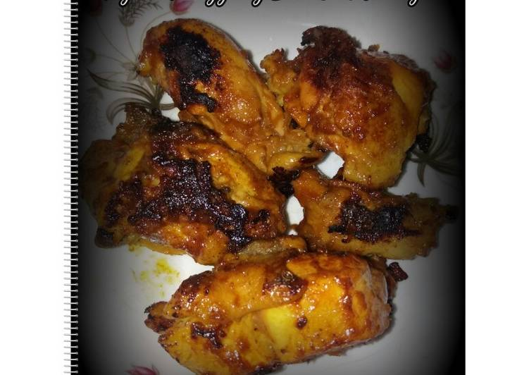 Ayam Panggang Bumbu Kuning Teflon