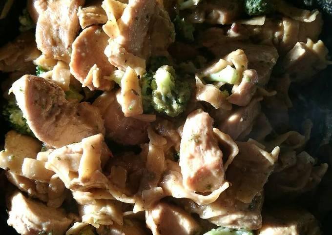Fast chicken & broccoli