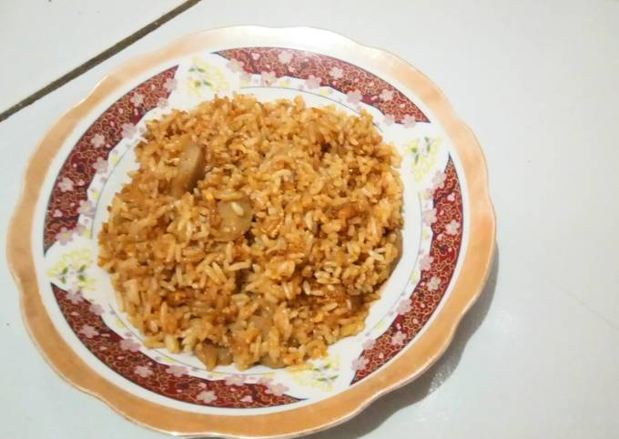 Nasi Goreng Bakso ala Rumahan