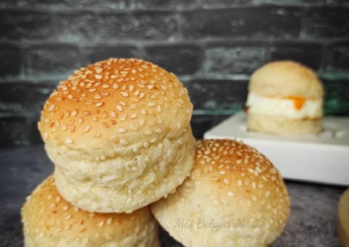🍔 Roti Burger Penuh Bijan Sejuk Beku 🍞❄️