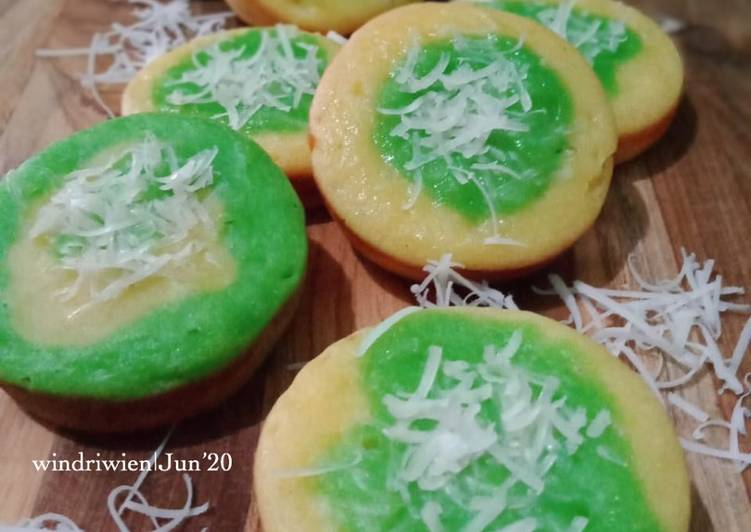 Kue Pukis Tape 2 Warna