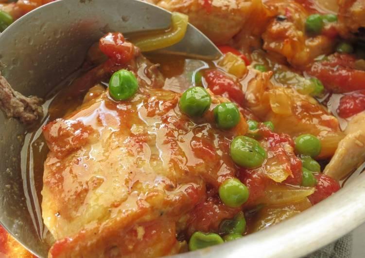 Easy Cuban Style Chicken Stew