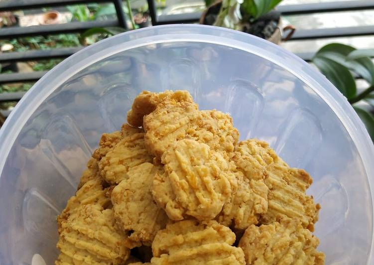 Cornflakes Cheese Cookies Gluten Free
