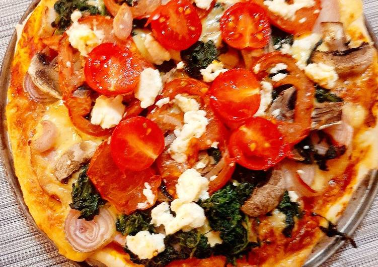 Pizza z ziołami
