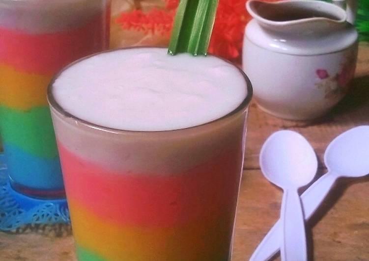Bubur Sum Sum Rainbow
