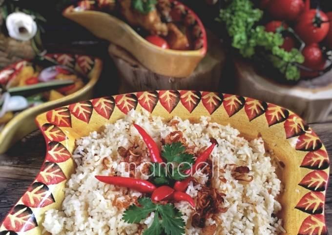 Nasi Minyak. Hidangan Nasi (Maraton Ramadhan)