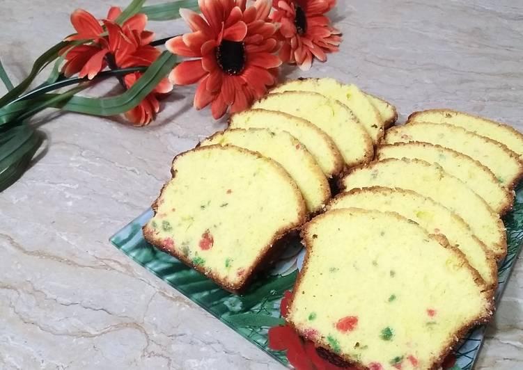 Recipe of Homemade Bakery Fruit Cake