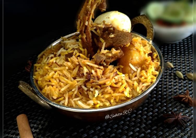 10 Minute Dinner Easy Autumn Kolkata Special Mutton Dum Biryani