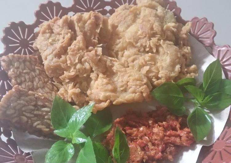 Ayam geprek maknyus#cabeku&#ayam MinLop WitYu#