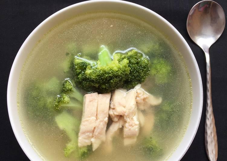 Sup Kakap Merah Brokoli