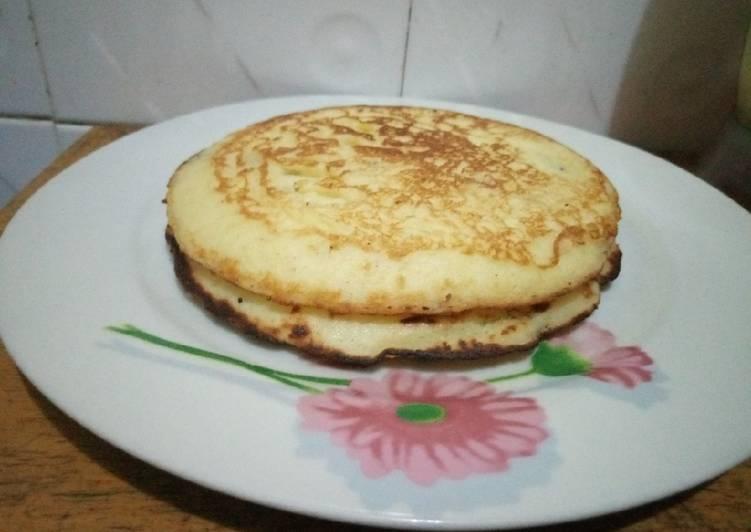 Semolina pancake