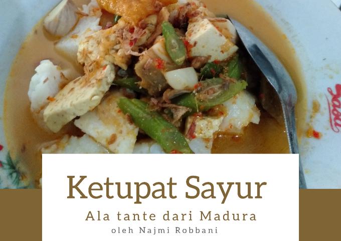 ketupat sayur segar ala tante dari madura - resepenakbgt.com