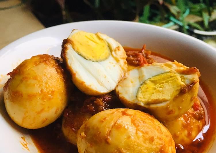 Telur Bumbu Bali