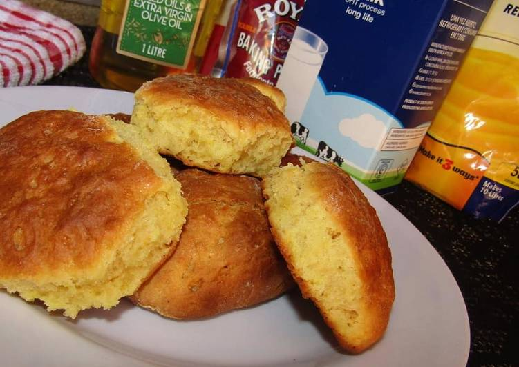 Easiest Way to Make Quick Olive Oil Scones