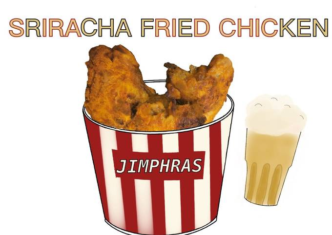 Baked Sriracha Fried Chicken