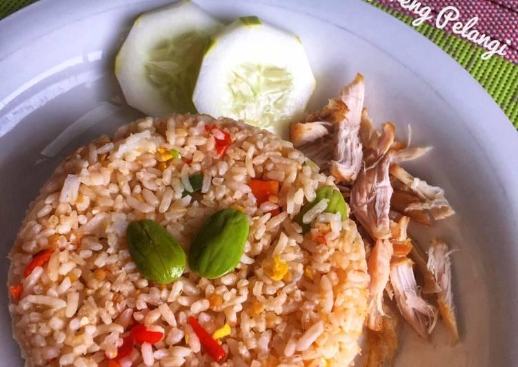 Resep Nasi Goreng Pelangi yang Enak Banget