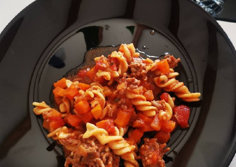One pot pasta bœuf et carottes