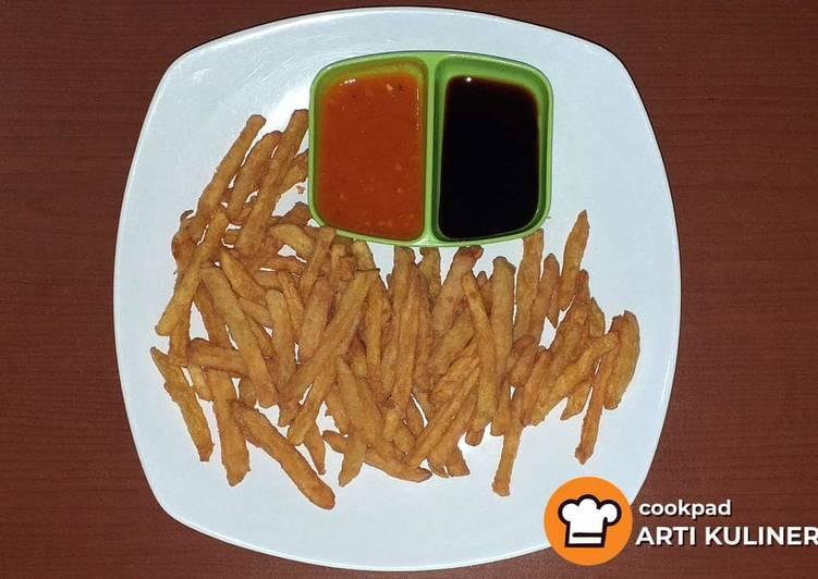 Kentang goreng crispy ala arti kuliner