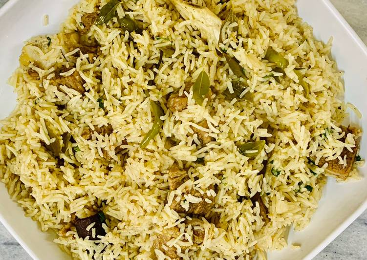 Old Fashioned Dinner Easy Summer Green Masala Pulao