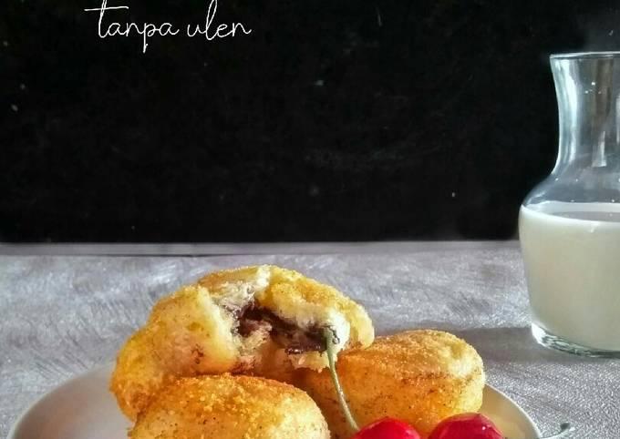 Cara buat Roti Goreng Isi Coklat Lumer TANPA ULEN Yang Mantab Untuk Jualan