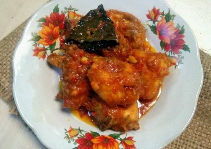 Ayam goreng suna cekuh khas Bali