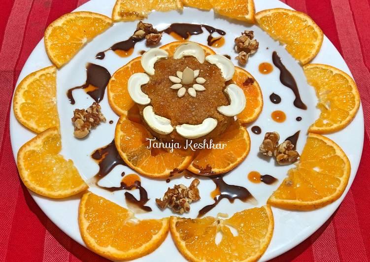 Orange Quinoa Halwa