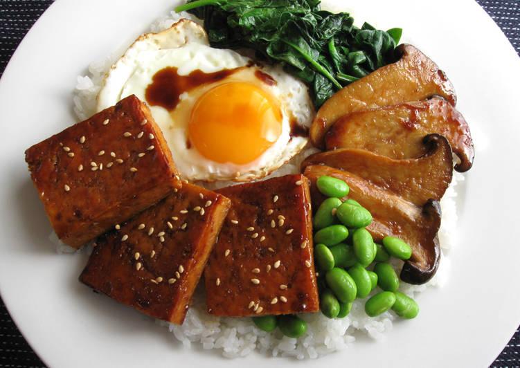 Recipe of Ultimate Teriyaki Tofu Plate