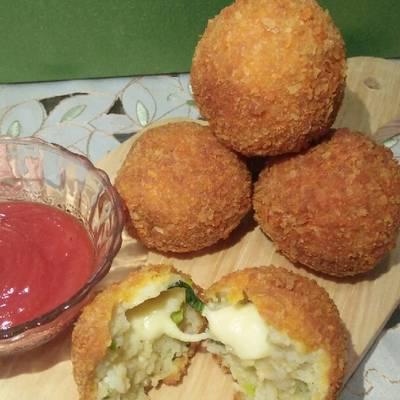 Resep Kroket Nasi Keju Oleh Rts Fujii W A Cookpad