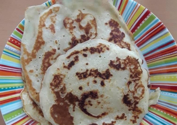 Le moyen le plus simple de Préparer Délicieux Pancakes sans oeufs