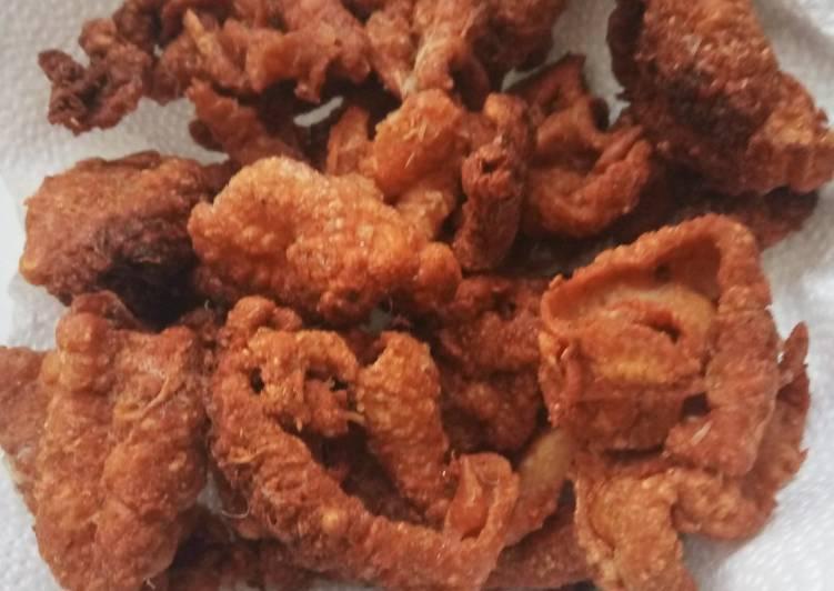 Keripik Kulit Ayam ala Dapurnya Joy