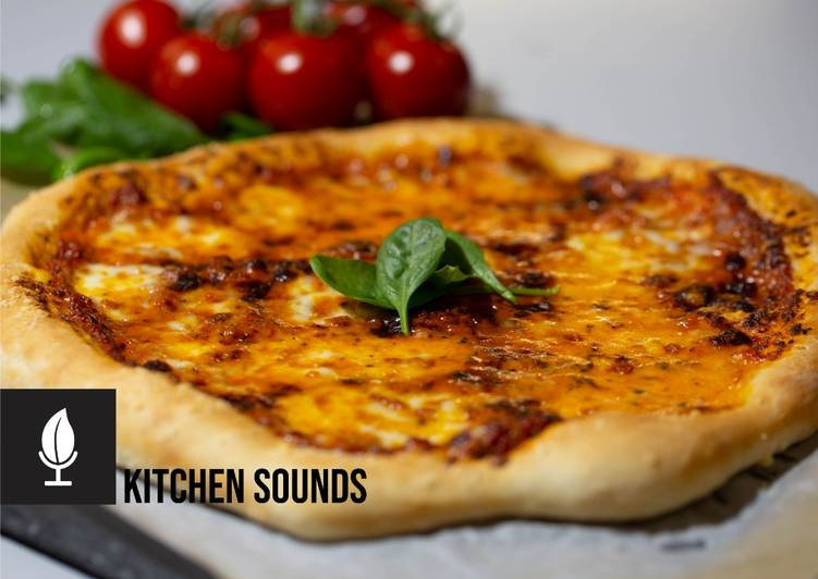 Simple homemade pizza recipe🍕