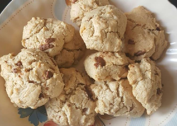 How to Cook Yummy Bounty chocolate chip Oat Cookies☺