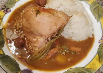 How to Recipe Tasty Brads chicken and sausage gumbo