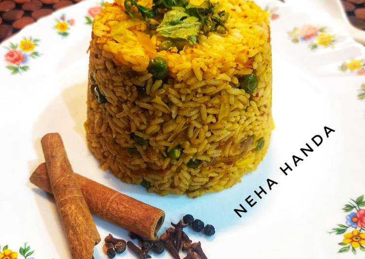 The Best Soft and Chewy Dinner Ideas Winter Tawa Pulao(Mumbai Style)